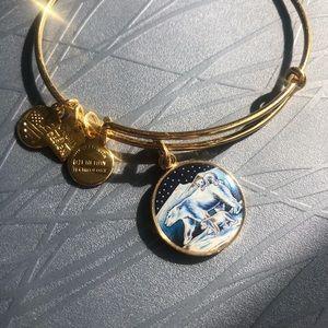 Polar Bear Alex and Ani Gold Bracelet NWOT